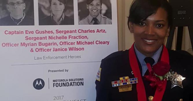 Sergeant Janice Wilson, Chicago Police Department