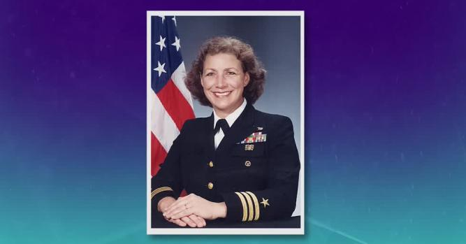 Darlene Iskra, Commander, USN (retired)